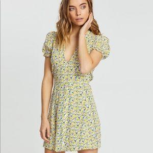 NWT Faithfull the Brand Rafhaela Floral Mini Dress